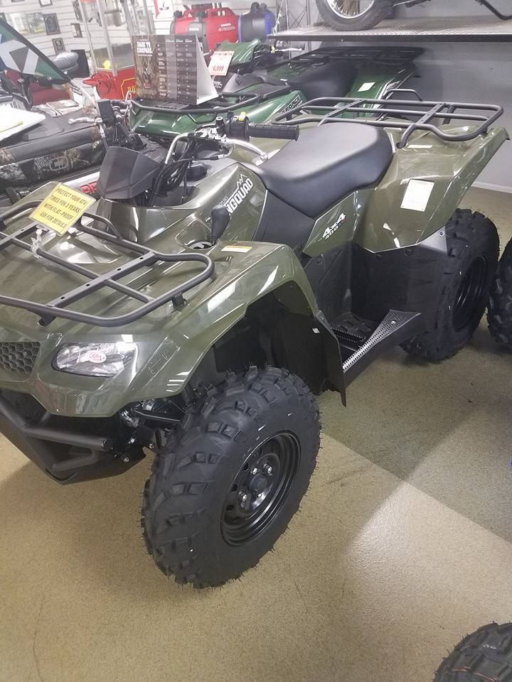 #ATV #Kingquad400 #kingquad750 #PetesCycle the fall is the best time to hit the trails, get your #SuzukiATV today at Petes!