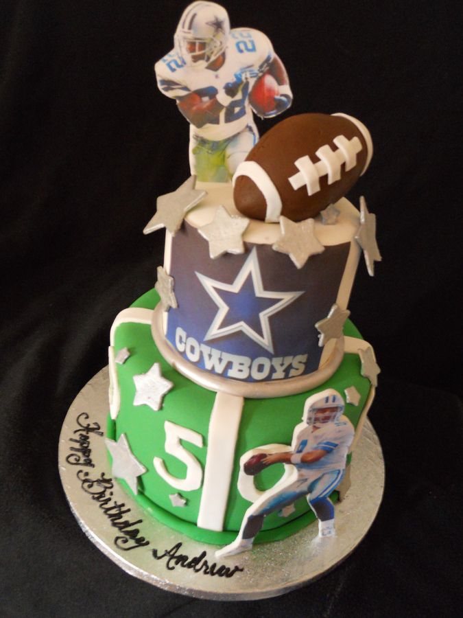 25 Best Images About Dallas Cowboy Cakes On Pinterest