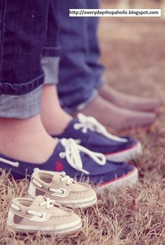 Maternity Photo - would love taking this with all of our boat shoes especially now that baby b has his very first pair from Aunt Stacy! :)