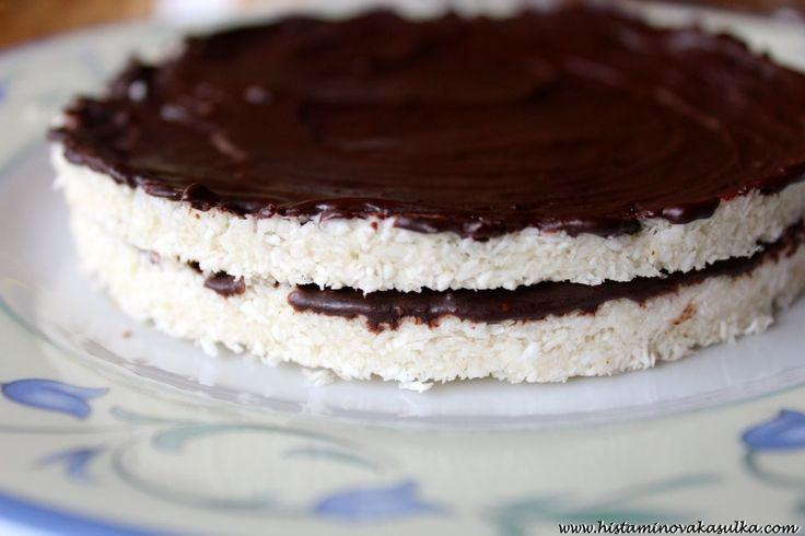 Kokosový koláčik, Histamínová Kašulka