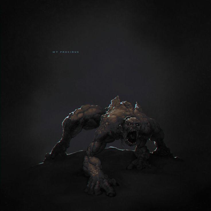 ArtStation - Gollum, Alexandr Menshikov
