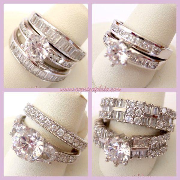Anillos de plata 925m en www.capricciplata.com #plata #anillos #anillosdecompromiso #moda #fashion #tiendaonline #shopping #capricciplata