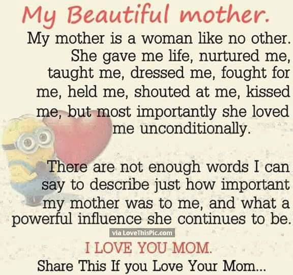 Beautiful Quote For The Day: 17 Best Ideas About Happy Mothers Day Poems On Pinterest
