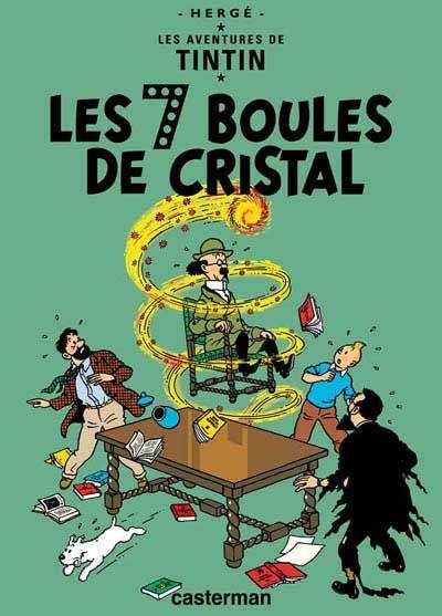 Tintin -13- Les 7 boules de cristal - BD