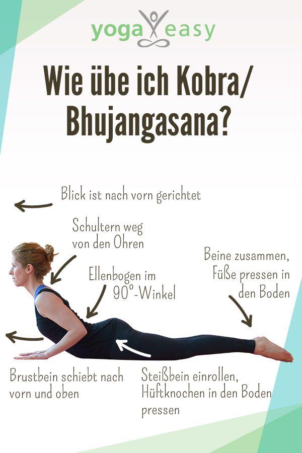 Asana des Monats: Bhujangasana – die Kobra – YogaEasy – dein Online-Yogastudio