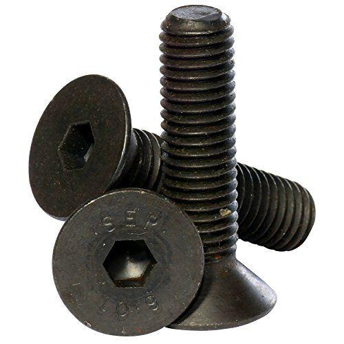 Cheap Bolt Base (6mm) M6 x 16 Black 10.9 Grade High Tensile Hex Socket Countersunk screws Self Colour Allen Bolts DIN 7991 - 10 Pack on sale 2017