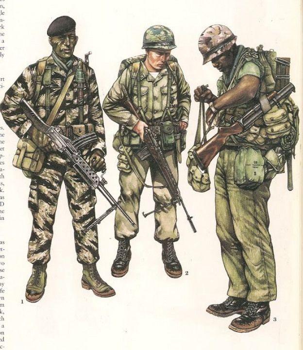 1.- Sergeant 1st.Marine Recon Battalion Vietnam1966 2
