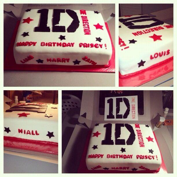 One Direction Cake by Tiffany's Treats, via Flickr