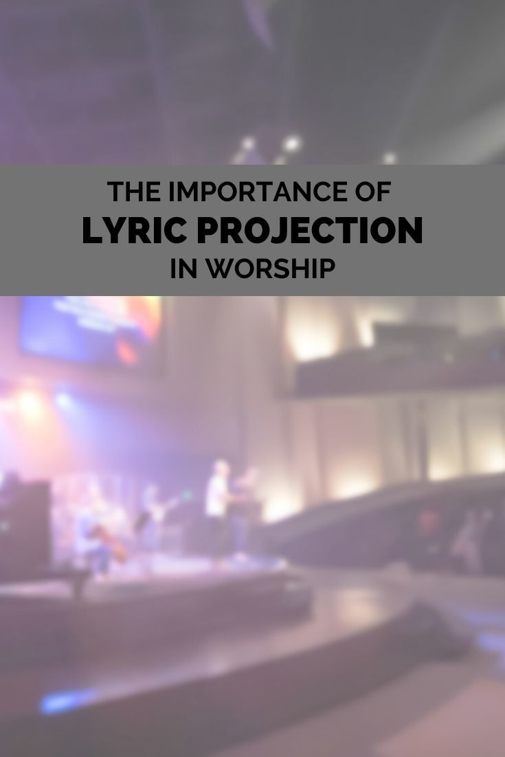Youth Group Room Designs: The Importance Of Lyric Projection In Worship (With Images