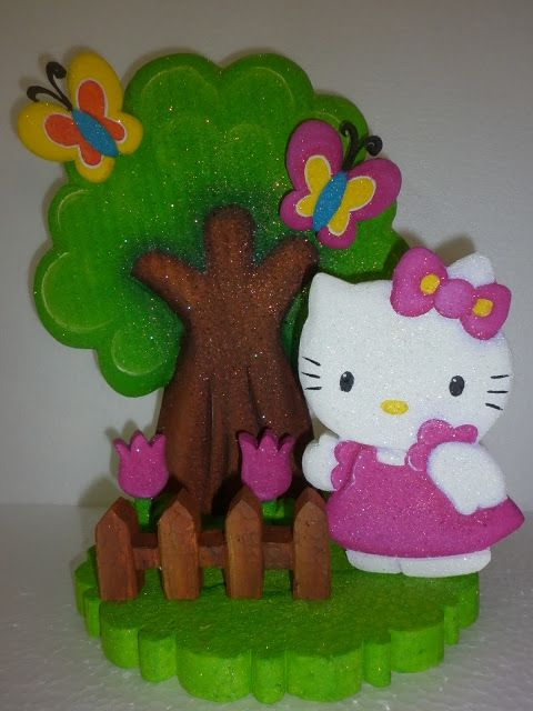Light Goes Decorating: ♥hello kitty