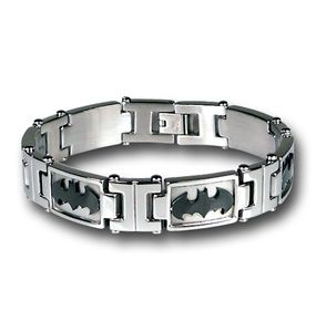 So thought of @Luisa D.P. Sosa -awesomely cool Batman jewelry