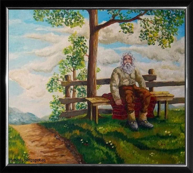 ArtValy: Bătrânul de pe băncuţă De vânzare ! (contact vali_negrutzu@yahoo.com)