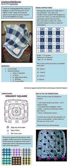Crochet Pattern. ou Crochê Padrão.