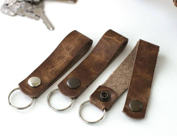 Hey, I found this really awesome Etsy listing at https://www.etsy.com/listing/463123815/leather-key-chain-handmade-key-fob