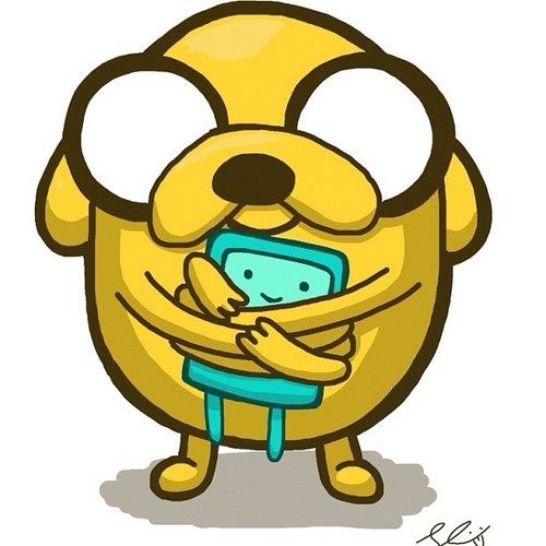hora de aventura com finn e jake imagens chibi Jake and BMO wallpaper and background fotografias