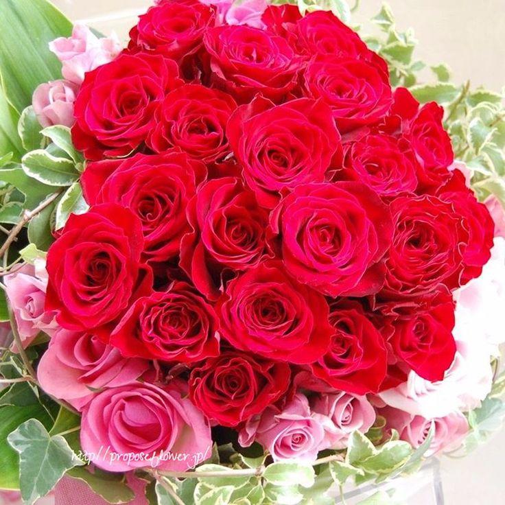 幸せな花束の記録♪ #flower #flowers #flowerlovers#flowershop#flowerdesign #bouquet #hanataba#blumen #fleur #proposeflower #rose #roses#pinkrose #花束 #薔薇花束 #求婚花束 #クリスマス花束#赤いバラ #ロマンティック花束#花屋 #フラワーショップ #プロポーズフラワー