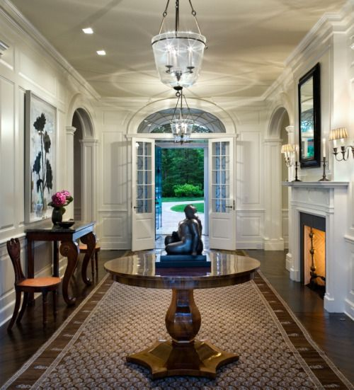 Kennedy Manor Dining Room: 215 Best Entry Halls And Foyers Images On Pinterest