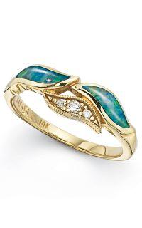 Awesome: opals and diamonds. Kabana GRIF463X | Albert's Jewelers