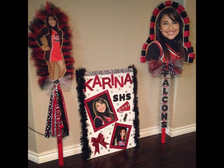 Cheerleading spirit sticks for competition