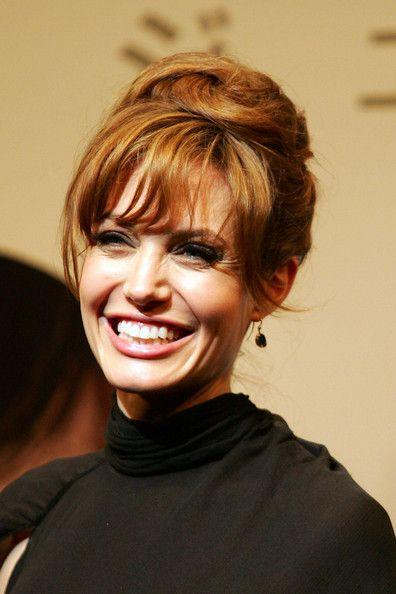Angelina Jolie Off-the-Shoulder Dress - Angelina Jolie Looks - StyleBistro