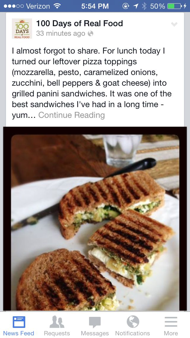 Mozzarella, pesto, caramelized onions, zucchini, bell peppers and goat ...