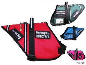Working Service Dog - Padded Service Dog Vest