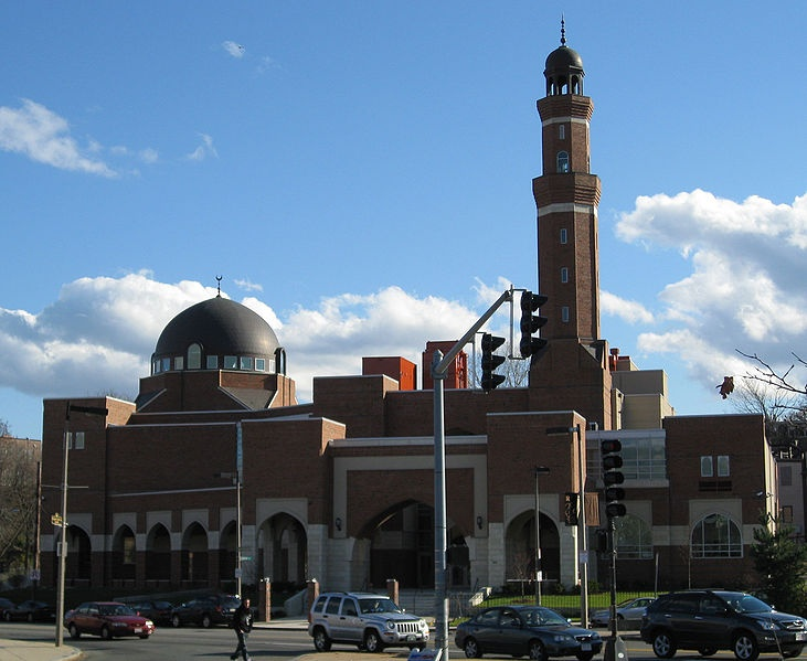 Roxbury Mosque, the Islamic Society of Bolton Cultural Center is the largest Islamic Centre in New England, USA