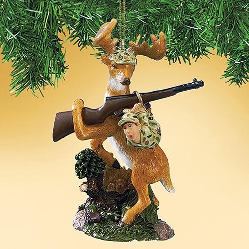 Funny Deer Hunter Ornament Christmas Pinterest Funny