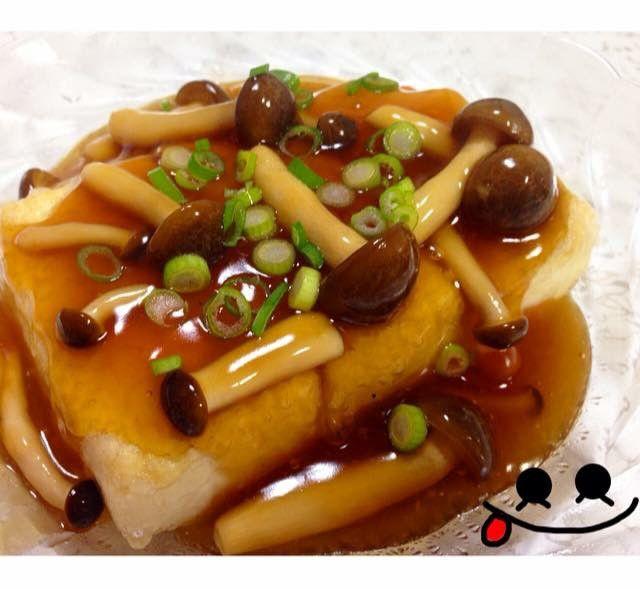 超簡単!揚げない♡あんかけ揚げだし豆腐 by nyaako♡ [クックパッド] 簡単おいしいみんなのレシピが233万品