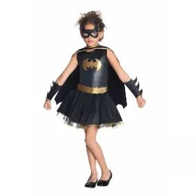 Disfraz Batigirl, Batichica, Tutu, Batman Vestidos