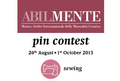 Abilmente Pin Contest - #sewing