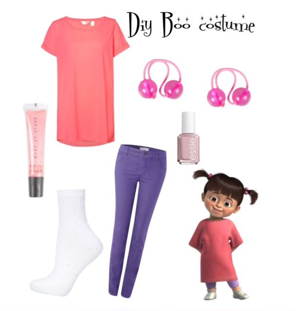 DIY Boo from monsters inc halloween costume