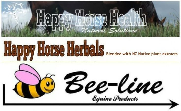 Happy Horse Herbals & Bee-line Equine - Happy Horse Health www.happyhorsehealth.co.nz