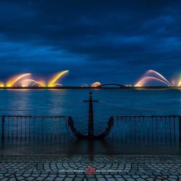#lightup #fountain #otsuko #harbor #biwako #lakebiwa #otsu #shiga #japan #japanimpressions #噴水 #ライトアップ #大津港 #琵琶湖 #大津 #滋賀県 #日本 #sonyimages #sonyalphaclub #sonyalphasclub #sonyalpha #sonya7rii sonya7lovers #sonyzeiss1635 #japan_of_insta #insta_photo_jp #insta_japan #instagramjapan #rollei #compacttraveler #rolleimoments www.japan-impressions.com
