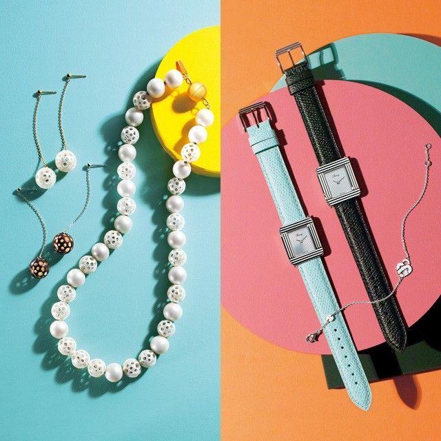 合計35名の方にブランドのジュエリー&ウォッチをプレゼントする豪華企画が登場です! エレ女のステディブランド10社が誇る、珠玉のクリエーションを集めました。