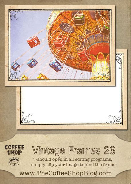 The CoffeeShop Blog: CoffeeShop Vintage Frames 26!