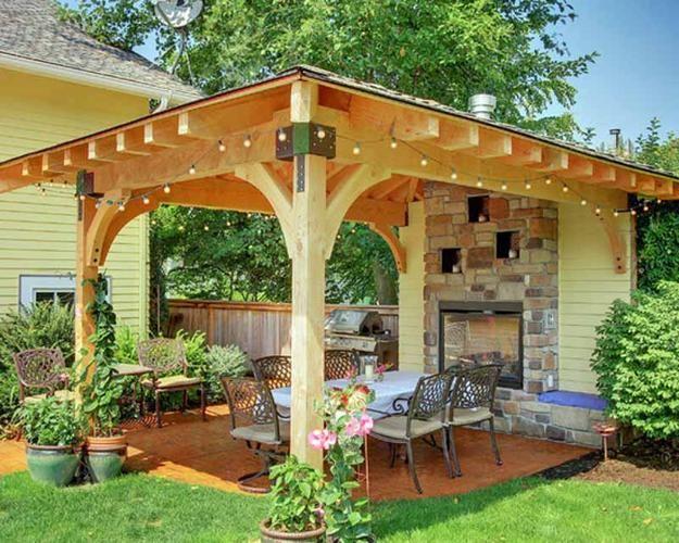 backyard ideas, pergolas and gazebos, outdoor seating areas