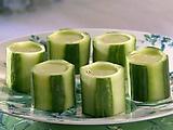 Cucumber Sake Shots Recipe : Sandra Lee : Recipes : Food Network