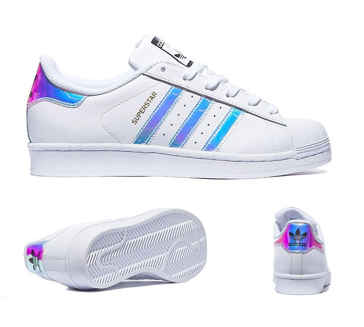 Junior Superstar Iridescent Trainer ADIDAS Women's Shoes - http://amzn.to/2iYiMFQ