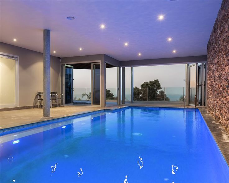 This substantial indoor heated pool makes this home one of the Peninsula's finest and well suited to a range of potential buyers.32 Bracken Ridge | #Melbourne - Mornington Peninsula | #Australia | Luxury Property Selection