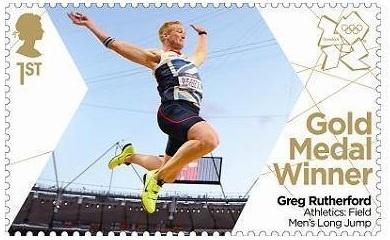Team GB Gold Medal Winner. Greg Rutherford. Men's Long Jump