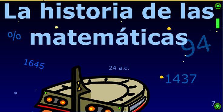 La historia de las matemáticas. Comic