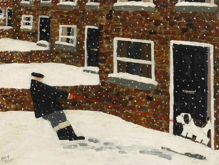 Gary Bunt | (68) Walkies (I Don't Think)- I've told you once I'm staying in A walkies I won't go It's minus 3 and I want some tea And we've had 2 foot of snow
