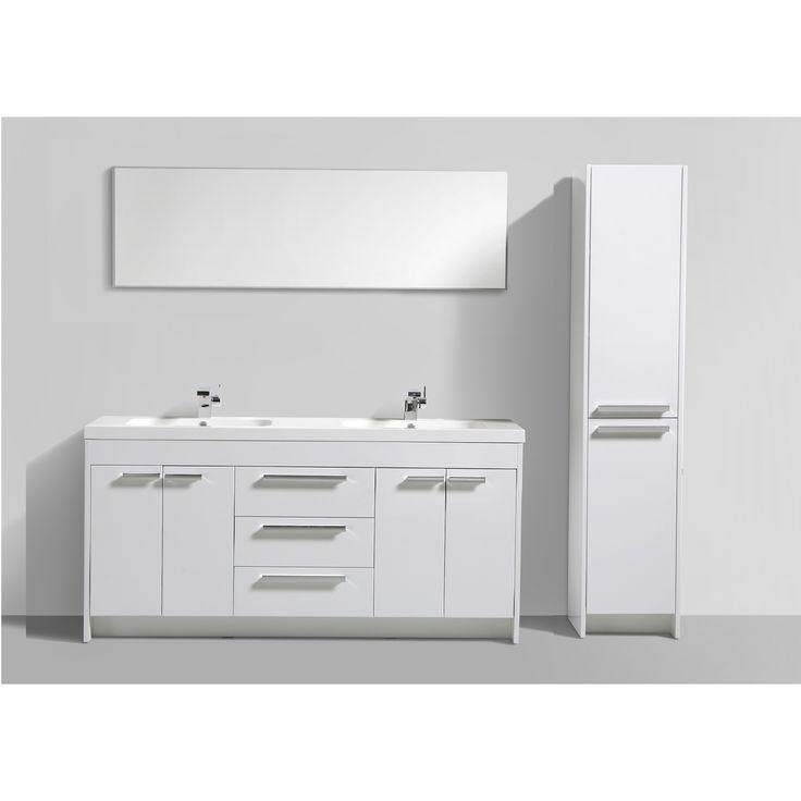Eviva Lugano 72-inch Modern Bathroom Vanity