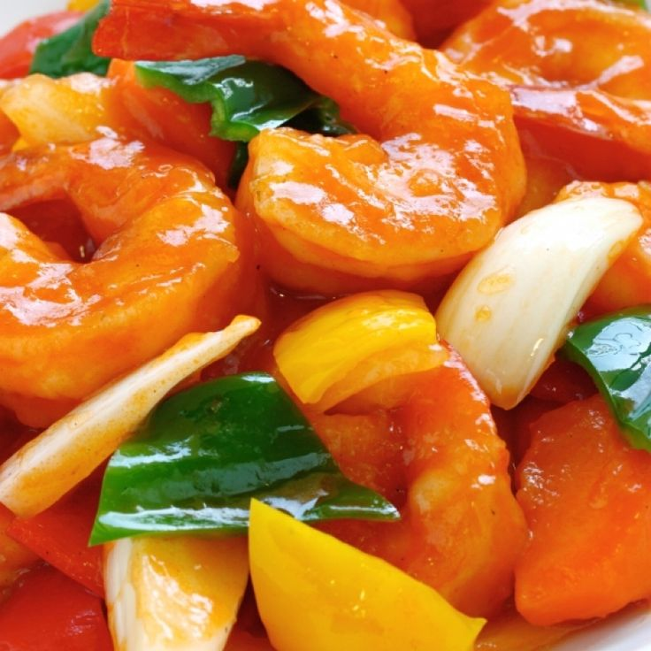 A Favorite recipe for yummy sweet and sour shrimp, Serve over hot cooked rice.. Sweet and Sour Shrimp Recipe from Grandmothers Kitchen.