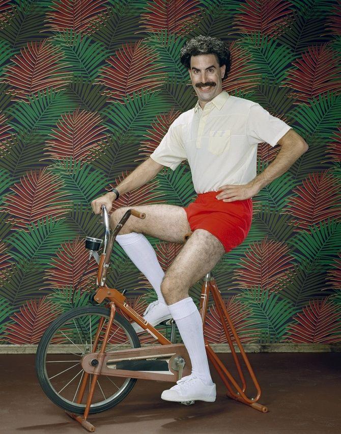 Borat (aka Sacha Baron Cohen)