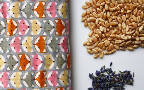 Lavender Scented Wheat Heat Pack/Bag Therapeutic by WhitewickHome