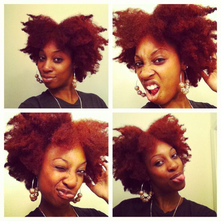 crazy afro natural hair