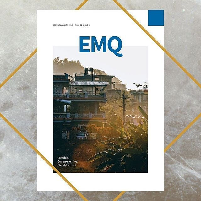 Via @missionexus - Your first 2018 issue of EMQ is here!   The Evangelical Missions Quarterly is the newest resource of Missio Nexus. With this first issue of 2018 it will begin its 55th year as a professional journal serving the worldwide missions community.  Volume 54 Issue 1 is comprised of 10 articles 3 re-occurring columns and 8 book reviews. EMQ is available for you online and in the following digital formats: pdf mobi epub.  Download Issue or Read Online at Missionexus.org/emq