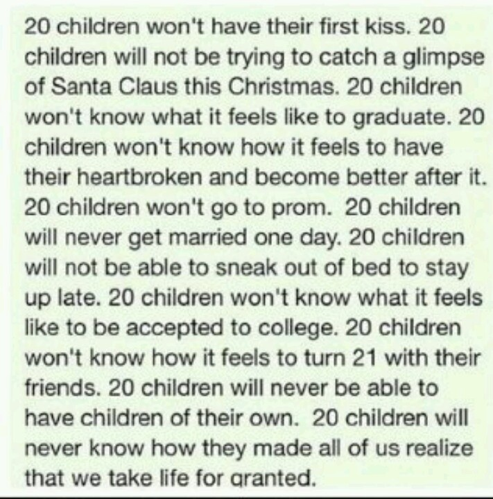 Tribute to children of sandy hook